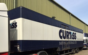 Over Wallop Removals curtiss & sons removals & storage truck image