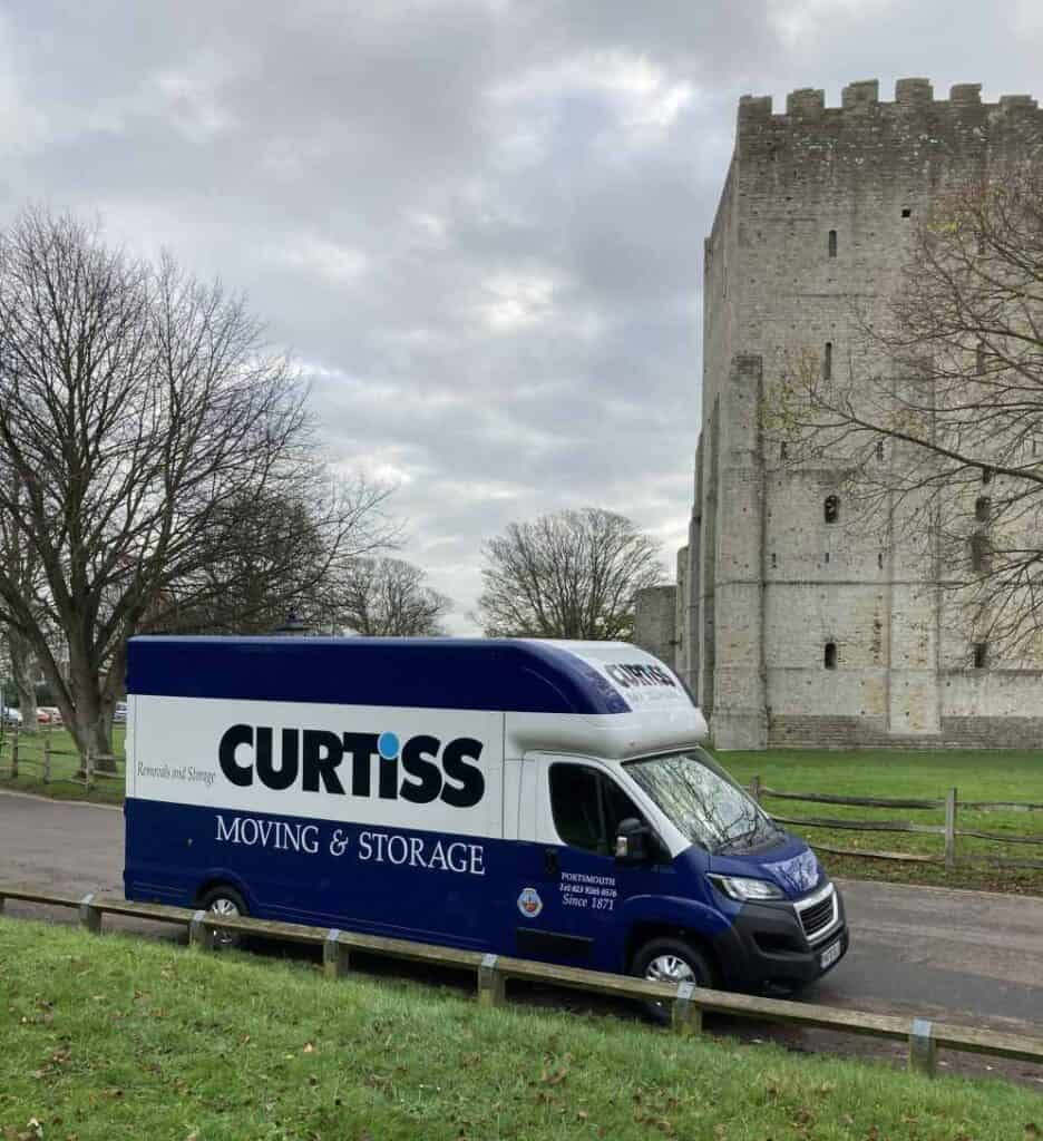 Curtiss Removals Van