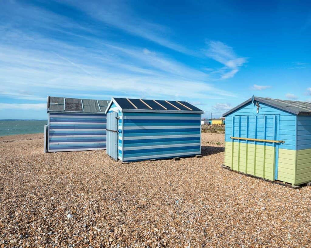 Beach Huts, Hayling Island