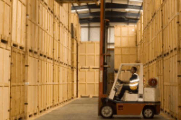 Curtis Containerised Storage for removals and storage service